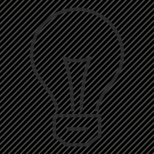 bright, bulb, creative, idea, innovation, light, lightbulb icon