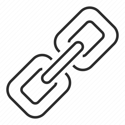 attach, chain, hyperlink, link icon