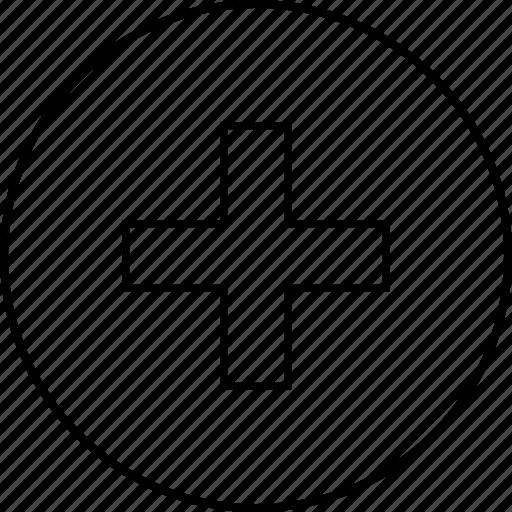 add, create, cross, new, plus icon