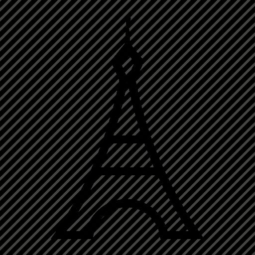 eiffel, france, gustave, paris, tower icon