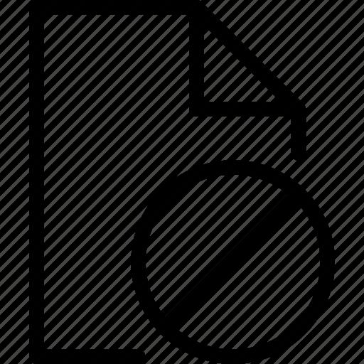 block, file icon
