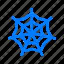 cobweb, halloween, horror, spider icon