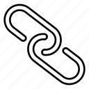 chain, link, multimedia, web icon