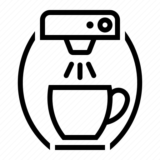 coffee, equipment, food, maker, office, service icon