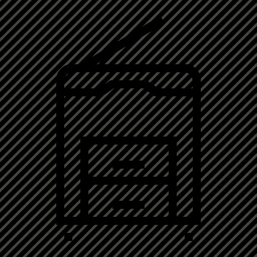 equipment, machine, office, photocopy icon