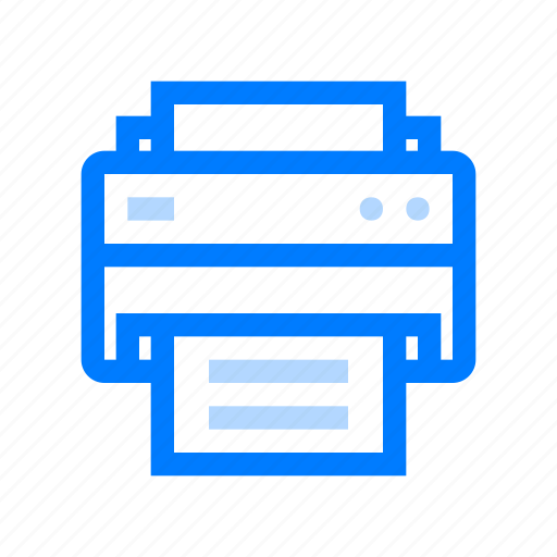 business, office, printers icon