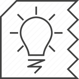 bulb, business, concept, creative, ideas, imagination icon