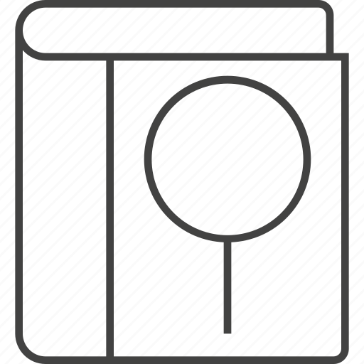 audit, examine, explore, magnifier, optimisation, search icon