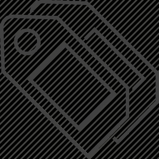 brand, description, label, price, sale, tag, title icon
