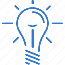 brainstorming, concept, creativity, idea, lamp icon