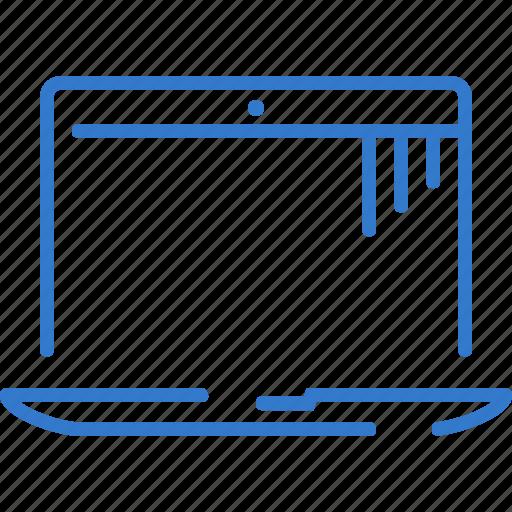 display, laptop, macbook, macbook pro, notebook icon