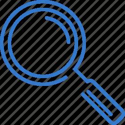 explore, find, search, view, zoom icon