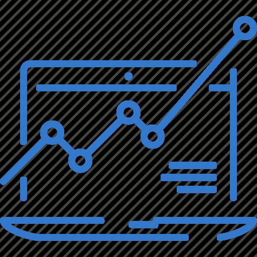 analytics, diagram, report, seo, statistics icon