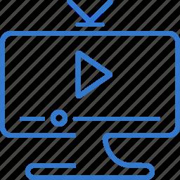channel, clip, film, movie, tv icon