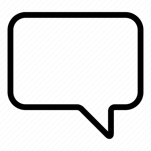 bubble, chat, message, speech icon