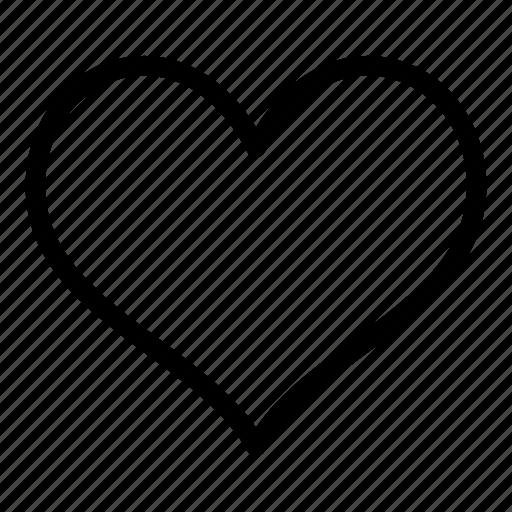 heart, like, love, rate, romantic, valentine, vote icon
