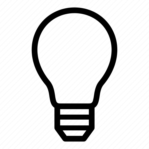 bulb, electric, energy, lamp, light, off, power icon