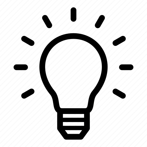 brainstorm, bulb, creative, energy, idea, lamp, light bulb icon
