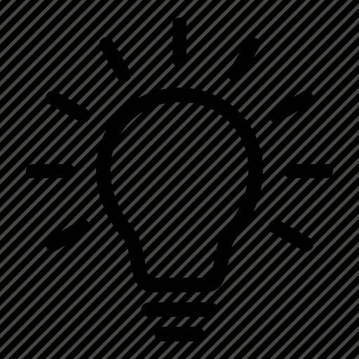 brainstorm, bulb, business, creative, idea, light, new icon