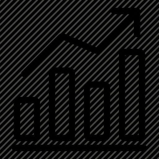 analytics, chart, graph, growth, presentation, report, statistics icon