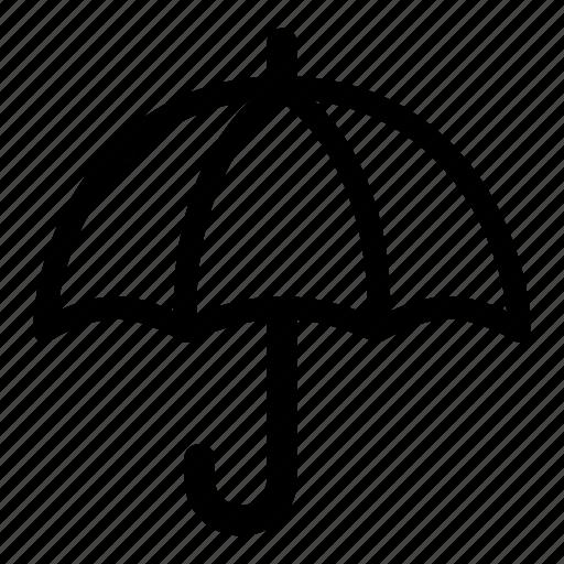 protect, protection, rain, raining, safe, security, umbrella icon