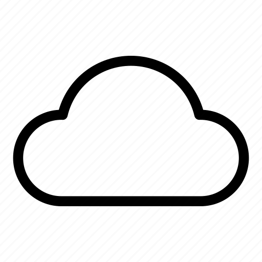 cloud, clouds, cloudy, sky, weather icon