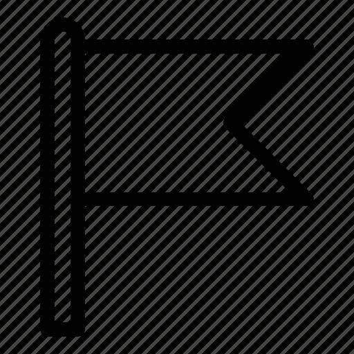 flag, goal, marker, market, navigation, pin, target icon
