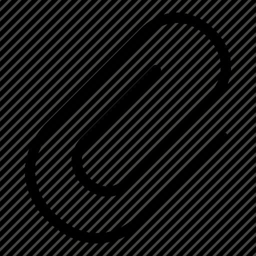 attach, attachment, clip, file, include, paper clip icon