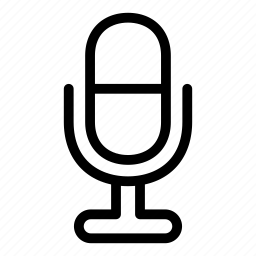 mic, microphone, music, record, speaker, voice, volume icon