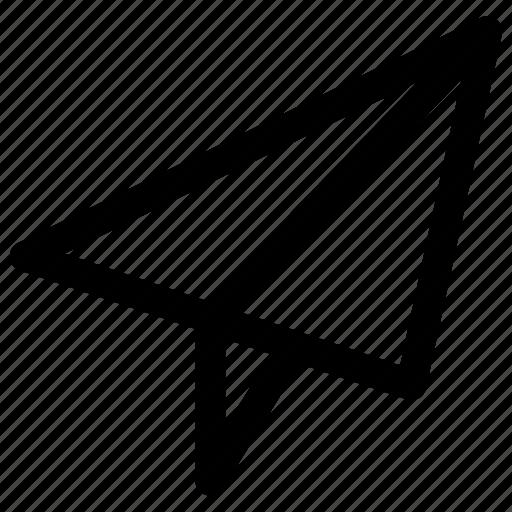 airplane, paper, plane, travel icon
