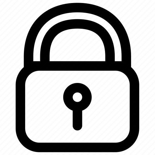 lock, locked, protection, safe, safety, secure, security icon
