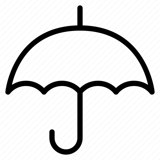 protection, safety, security, umbrella, weather icon