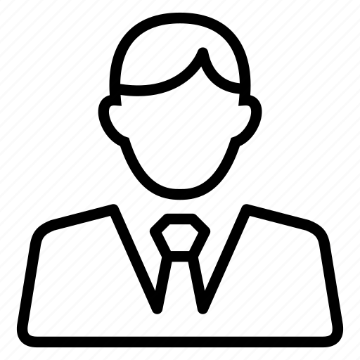 avatar, male, man, office, people, profile, user icon