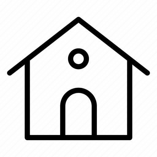 building, estate, home, homepage, house, main, office icon