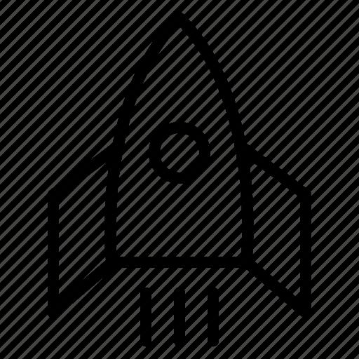 launch, racket, rocket, socket, spacecraft, spaceship, startup icon