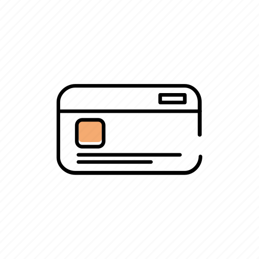 card, data, id, information, payment icon