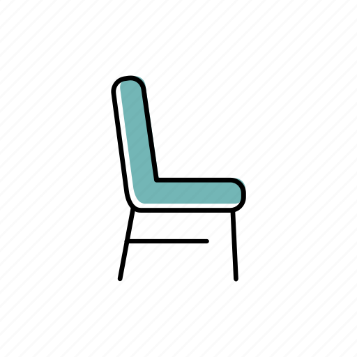 chair, furniture, house, office, seat, sit icon