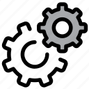 cog, configuration, gear, optimization, options, preferences, setting icon