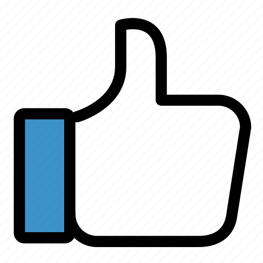 facebook, feedback, like, social, success, thumbs up, up icon