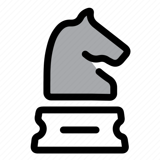 chess, figure, goal, horse, plan, planning, strategy icon