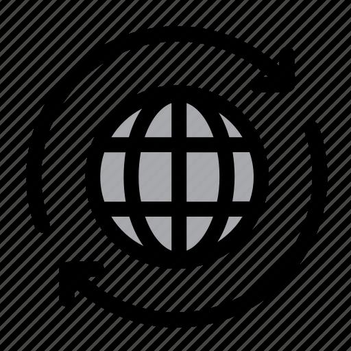 browser, global, globe, internet, optimization, web, web optimization icon