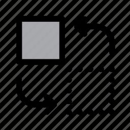 arrows, change, edit, move, rearrange, replace, swap icon