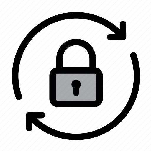 lock, locked, password, recovery, safe, secure, security icon