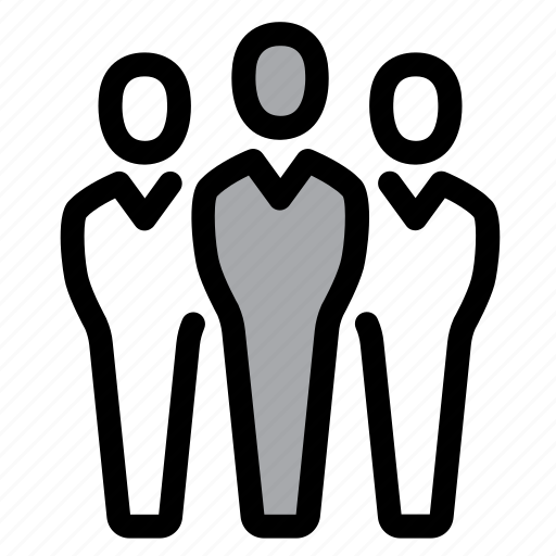 businessmen, community, group, men, people, team, users icon