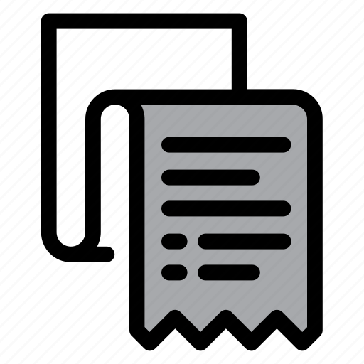 agreement, bill, check, contract, document, paper, receipt icon
