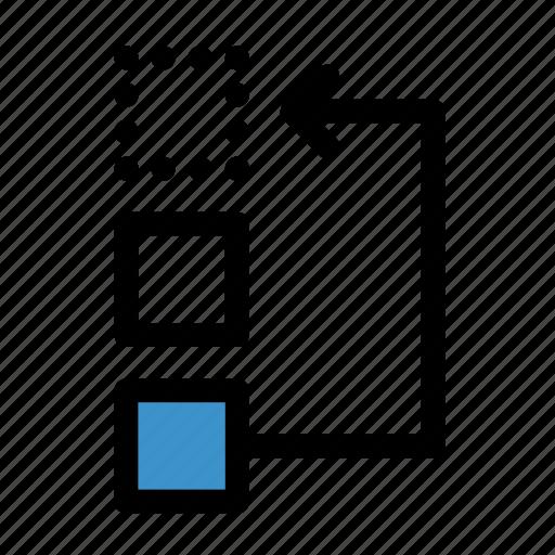 arrange, change, edit, move, rearrange, replace, swap icon