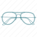 glasses, holiday, prescription, see, travel, trip, vacation icon
