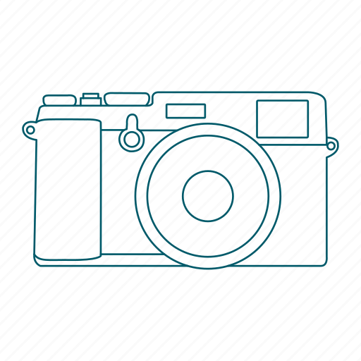 camera, digital, lens, photography, slr icon