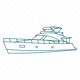 boat, cruise, holiday, ship, travel, trip, vacation icon