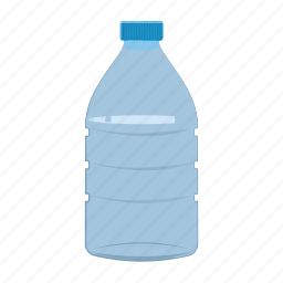 bottle, cartoon, container, food, ketchup, plastic, sauce icon